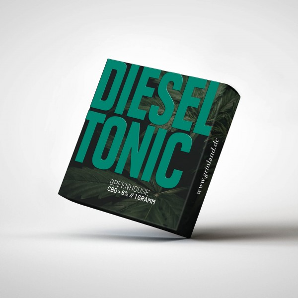 DIESEL TONIC Greenhouse - CBD > 6% - Aromablüten