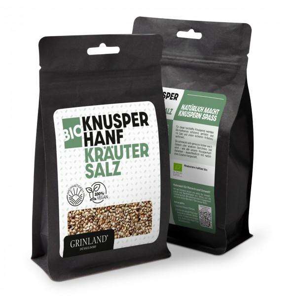 Bio-Knusperhanf Kräuter & Salz – Natürlich macht Knabbern Spaß