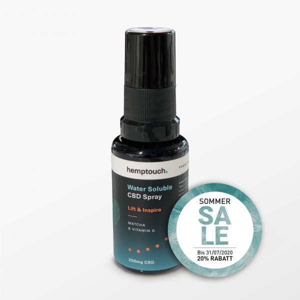 Lift & Inspire CBD-Spray, CBD 200 mg, 20 ml - Nahrungsergänzungsmittel