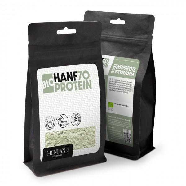 Bio-Hanfprotein 70 – Eiweißprotz in Pulverform