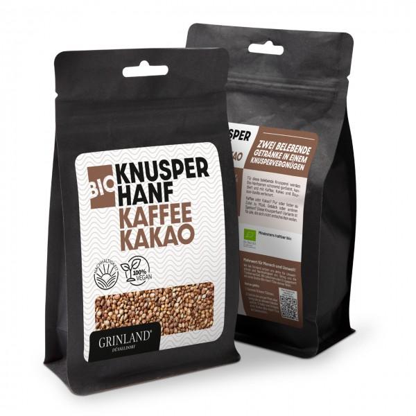 Bio-Knusperhanf Kaffee & Kakao – Zwei belebende Getränke in einem Knabbervergnügen