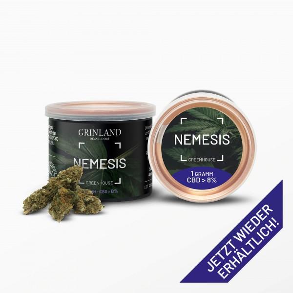 NEMESIS Greenhouse - CBD > 8% - Aromablüten