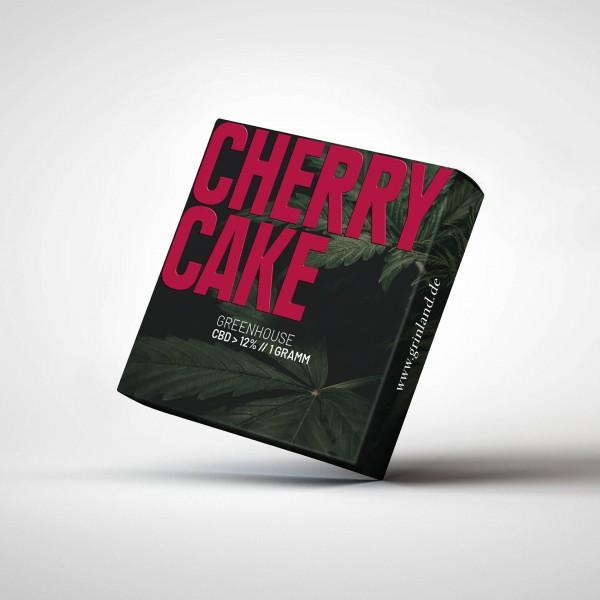 CHERRY CAKE Greenhouse - CBD > 12% - Aromablüten