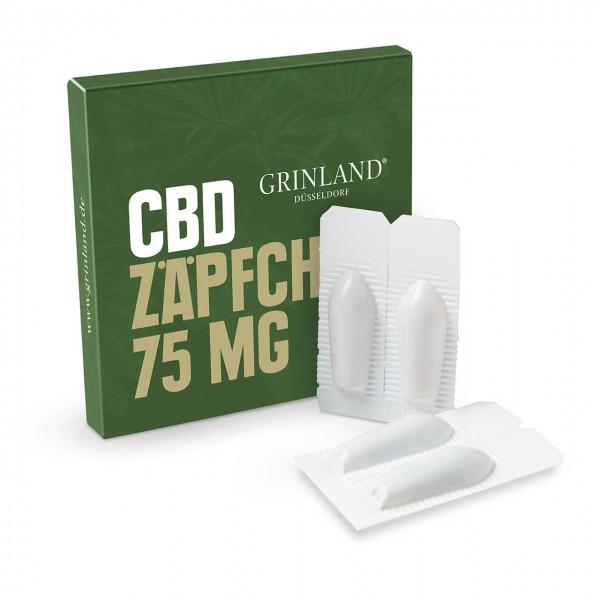 75 mg CBD-Zäpfchen