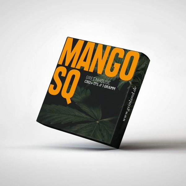 MANGO SQ Greenhouse - CBD > 17% - Aromablüten