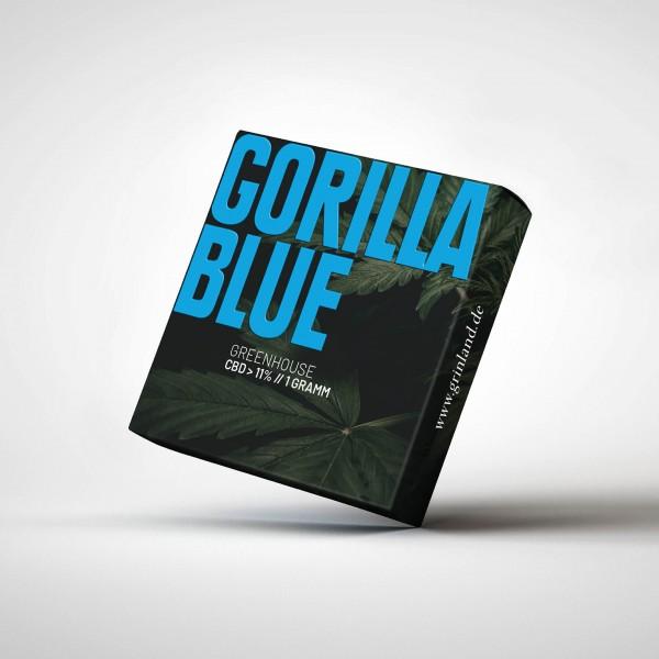 GORILLA BLUE Greenhouse - CBD > 11% - Aromablüten