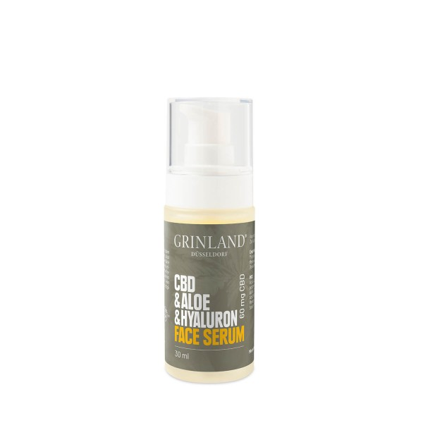 CBD & Aloe & Hyaluron Face Serum - 60 mg CBD