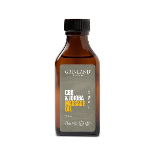 CBD & Jojoba Massage Oil - 2.300 mg CBD