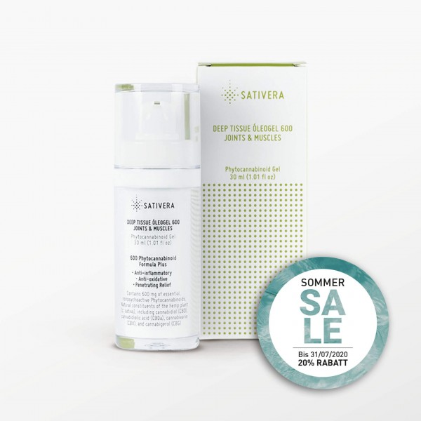 Sativera Deep Tissue Oleogel 600 - 30 ml